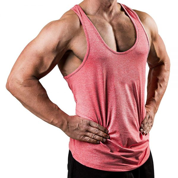 Bodybuilding Tank Tops Solid Undershirt