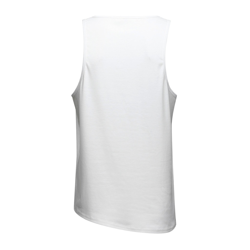 Casual Gym Tank Tops Muscle Print Sleeveless Vest