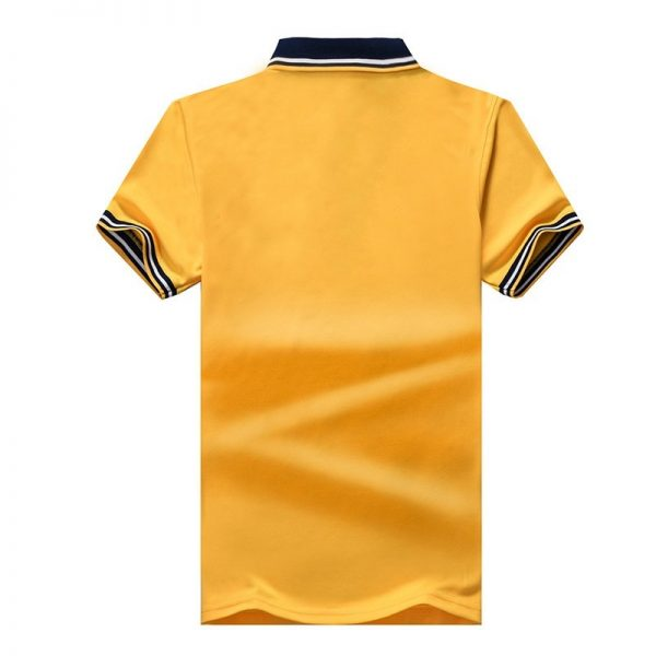 Casual Solid Color Polo Shirt