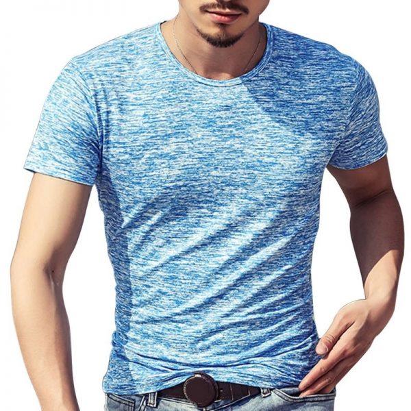 Fashion Men T Shirts Fitness Tshirt Sportwear