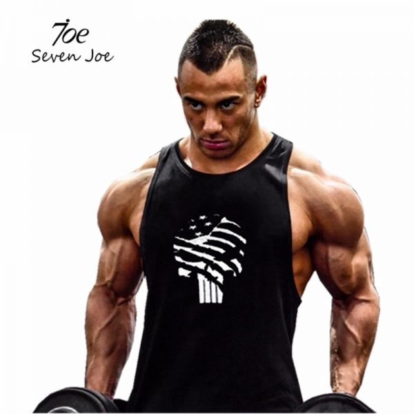 Gym Tank Tops Men Bodybuilding Workout Vest
