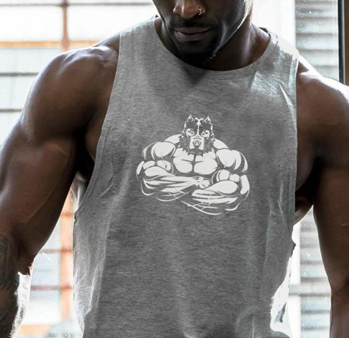 Gym Tank Tops Men Bodybuilding Workout Vest