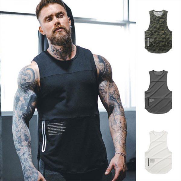 Gyms Workout Sleeveless Shirt