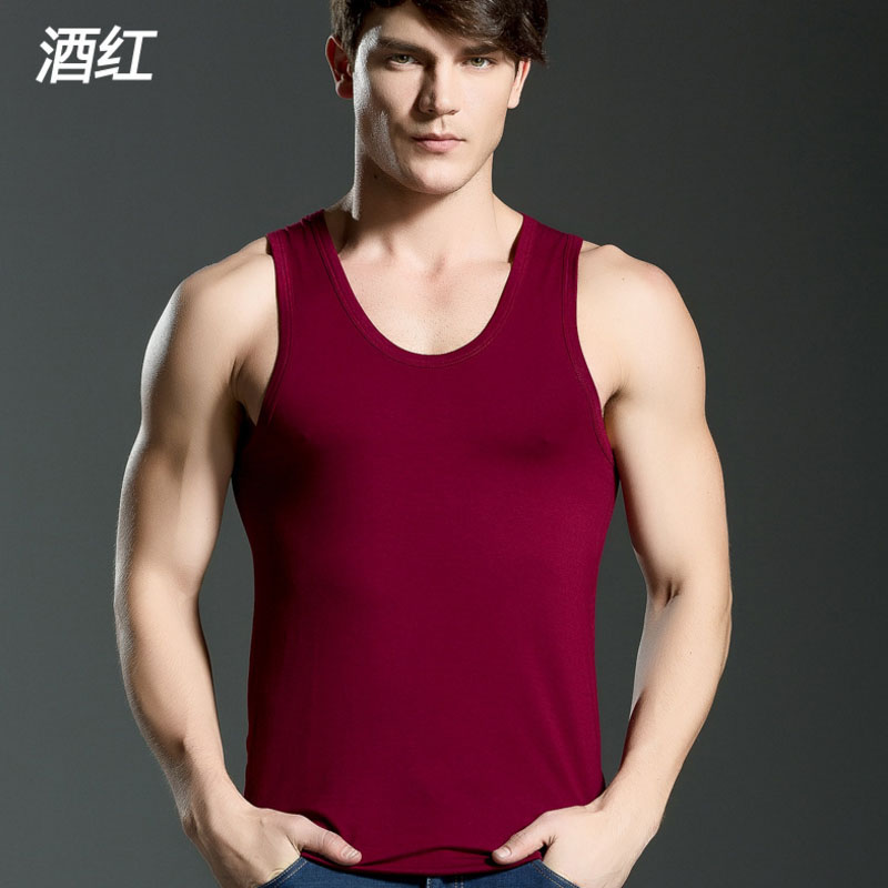 Men's Close-fitting Vest Fitness Tops