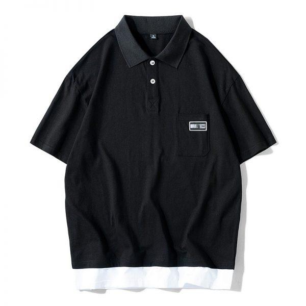 Men Polo Shirt Cotton Summer Top