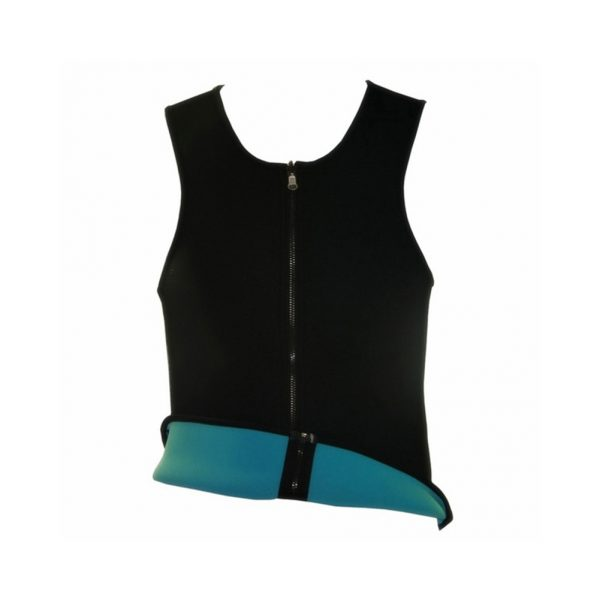Men Sweat Vest Slimming Zip Waist Trainer