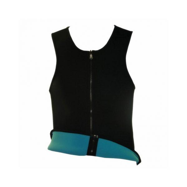 Men Sweat Vest Slimming Zip Waist Trainer