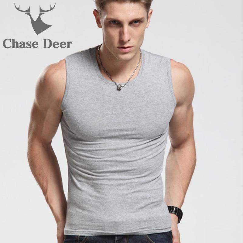 Men Tank Top High Quality Undershirt