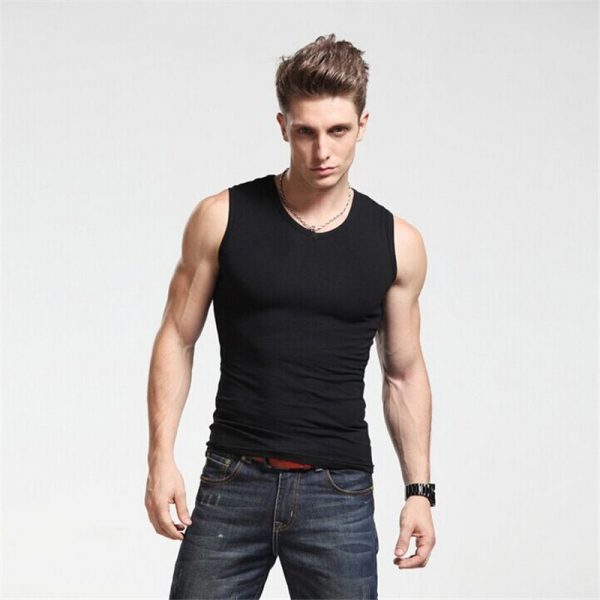 Men Tank Top High Quality Undershirt