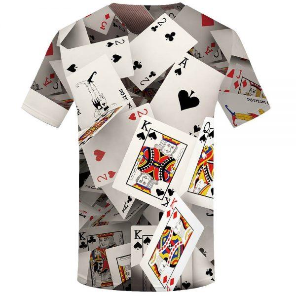 Poker T shirt Playing Cards Las Vegas Tshirt