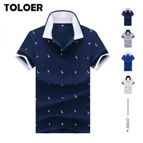 Polo Shirts Men Business Shirts