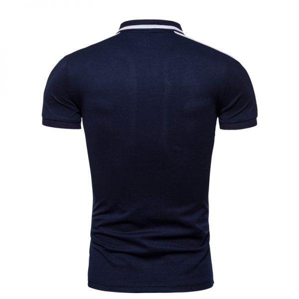 Summer Cotton Polo Embroidery Shirt