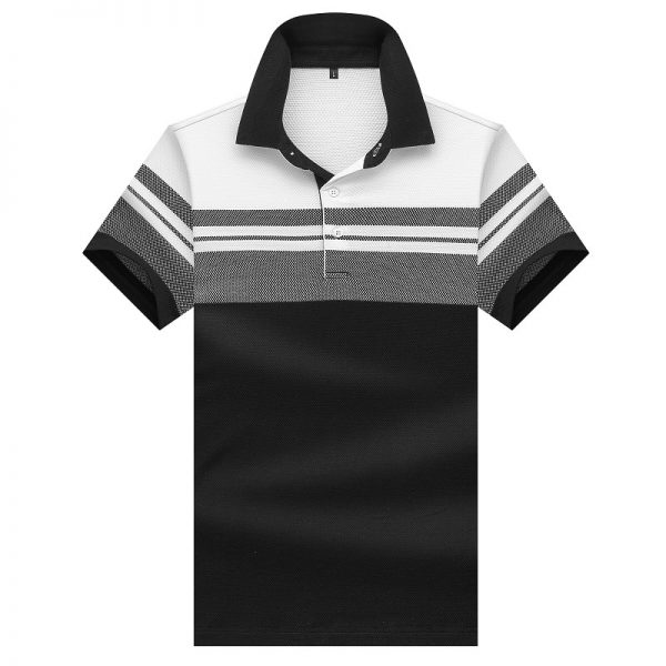 Summer Men Shirt Short Sleeve Polo