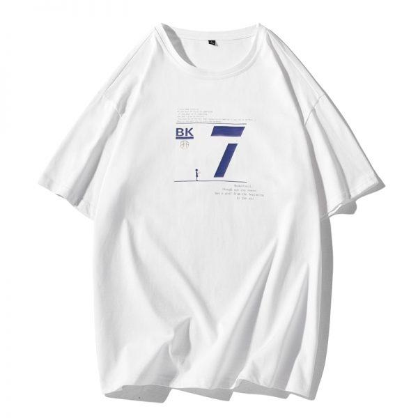 Summer T Shirt Men Short Sleeve Tee