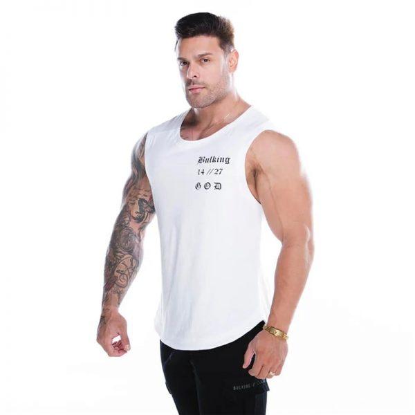 Tank Tops Bodybuilding Sleeveless Shirt