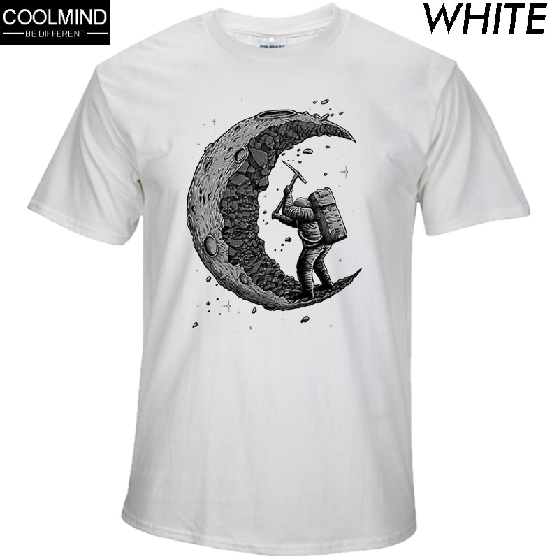 The Mysterious Nature of the Moon Print T-Shirt