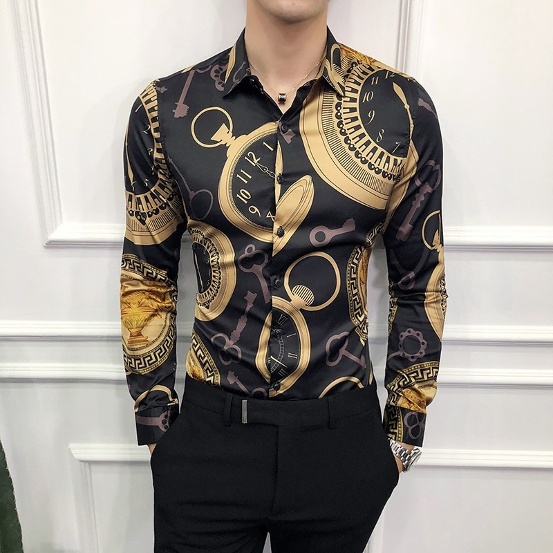 Tips on How to Wear Gold Dress Shirts