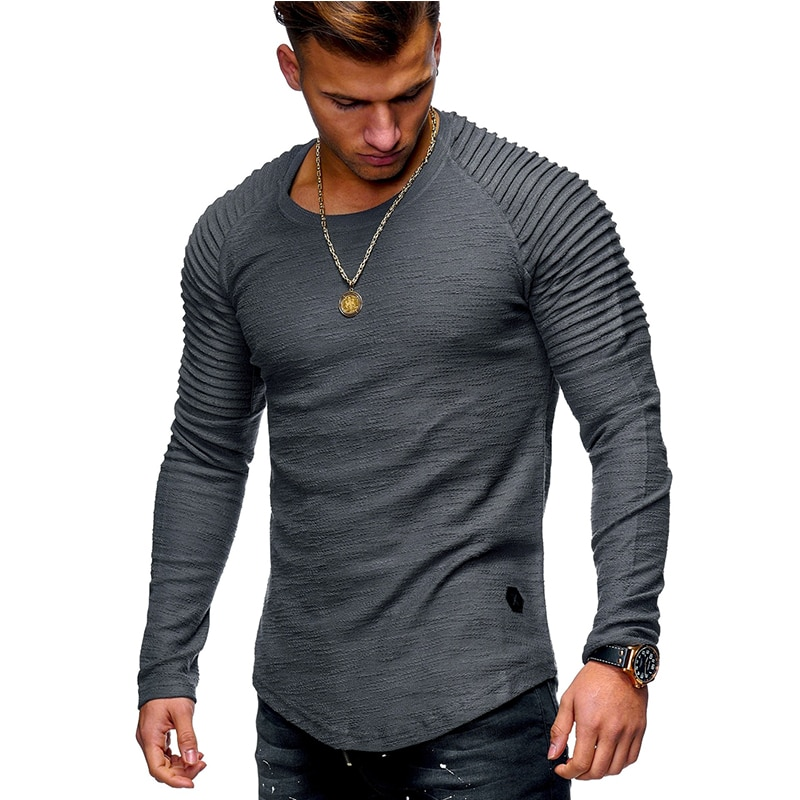 The History of Mens Long Sleeve T Shirts