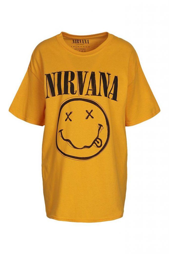 History of the Nirvana Shirt