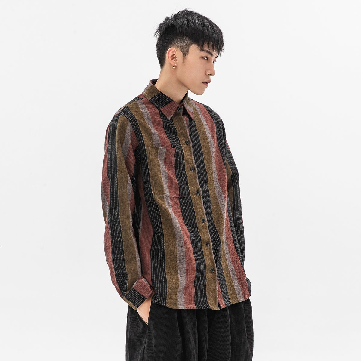 Striped Shirts With Patterns