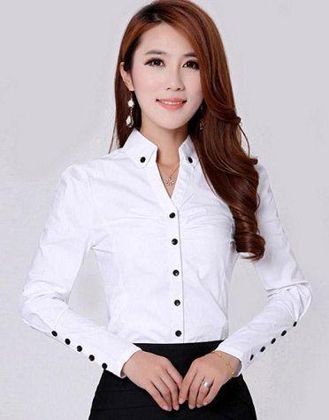 A White Shirt For Women