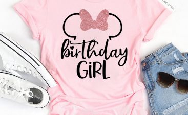 The Joy Of Giving A Birthday Girl Shirt