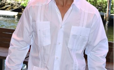 Wearing a Guayabera Shirt Untucked