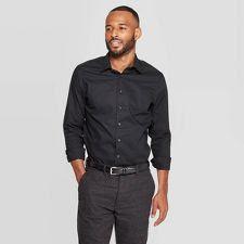 Black Shirt Button Up Tattoos