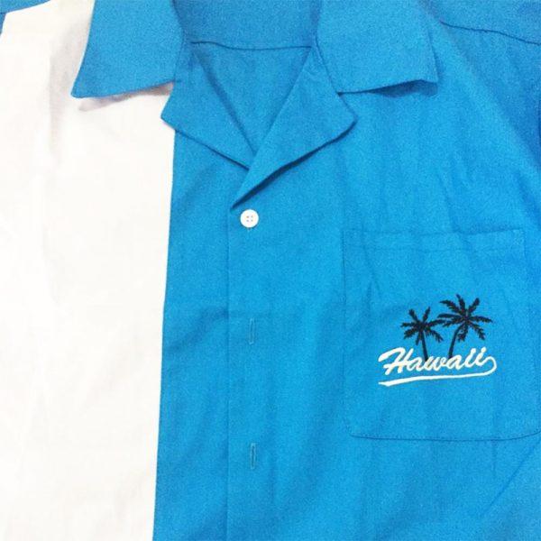 Hawaiian Striped Shirt Men Fashion