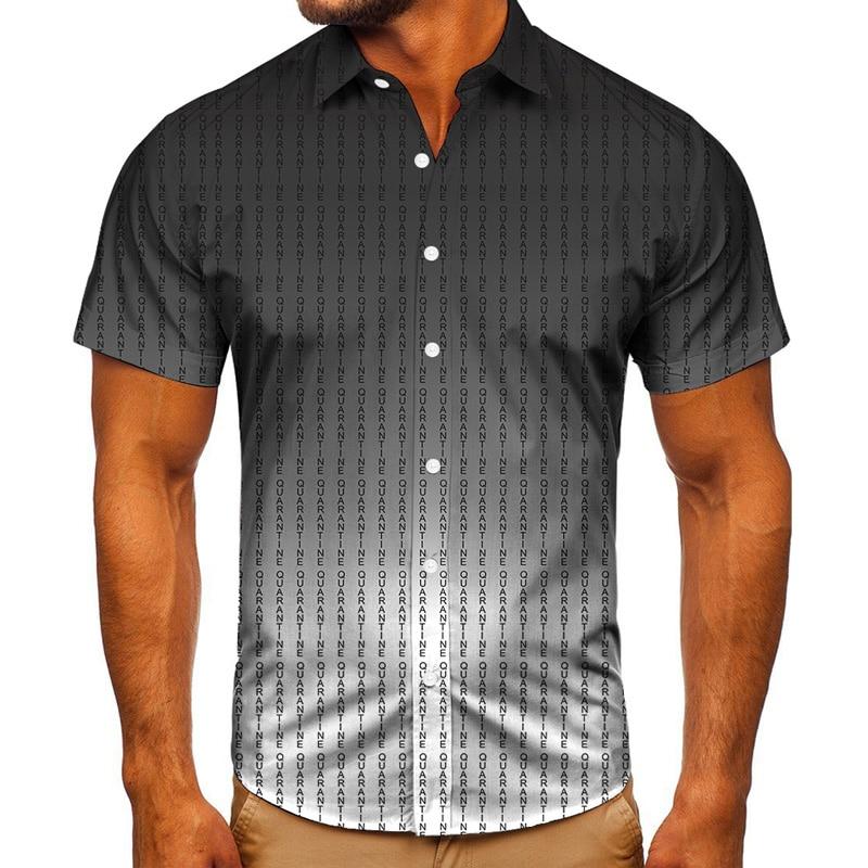 Striped Printing Summer Casual Shirts